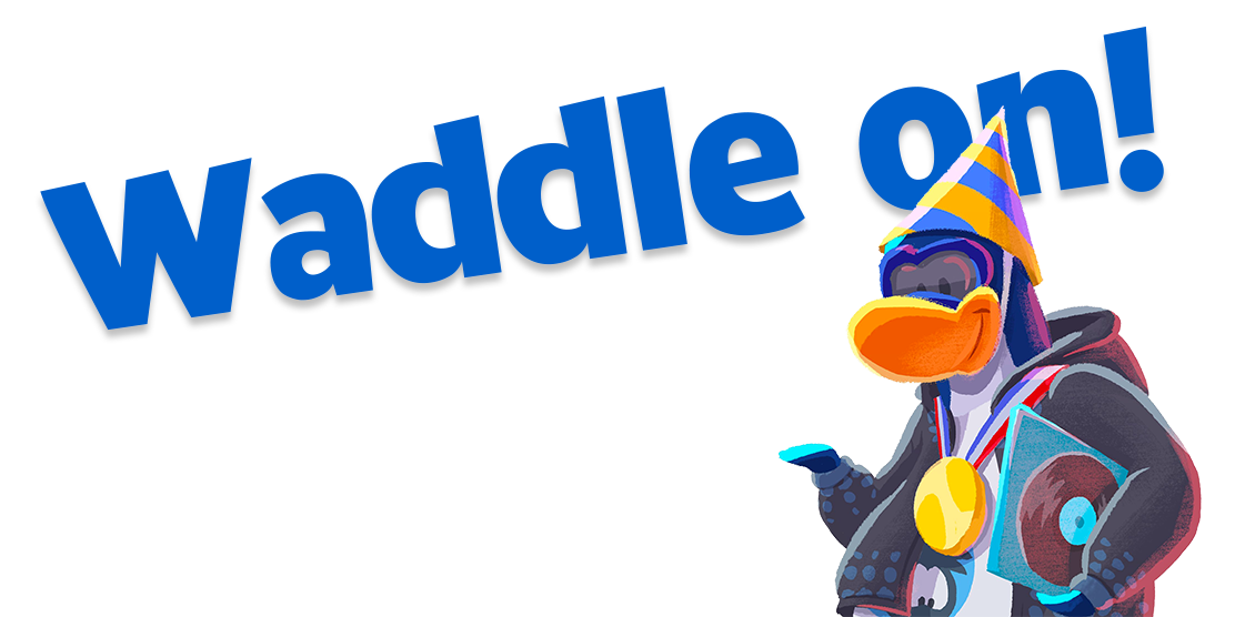 Medieval Party Waddle on!